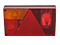 Tail light Aspöck Multipoint 1 Left 240x140x52 cable entry at the rear