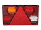 LED Tail light WAŚ L 232x142x59 reversing light, reflector, fog light 195cm Cable