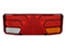 LED Tail light WAŚ R 350x131x81 reversing light, reflector, fog light 200cm Cable