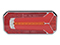 LED Tail light WAŚ R/L 236x104x49 reversing light, reflector, fog light 200cm Cable