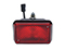 Fog light WAŚ R/L 136x86x82 red 180mm Cable