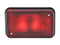 Brake light WAŚ R/L 136x86x82 red 180mm Cable