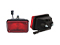 Side marking light WAŚ 136x86x82 red 180mm Cable