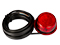 LED Side marking light WAŚ Ø78,3 red 500cm Cable