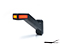 LED Side marking light WAŚ L 184,9x145,2x58 yellow/white/red 240mm Cable