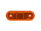 LED Side marking light WAŚ R/L 63x114x40 yellow 220mm Cable