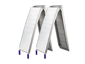 Loading ramp aluminium 2060x310mm, foldable: 1100x310mm, 680 kg/pair(2-pack)