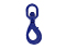 Swivel self-Locking Hook G80 7/8-8mm, 2 ton
