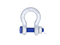 Shackle G-2130, WLL 17 t,