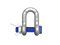 Shackle, Straight with screw G-2150, WLL 12 t,