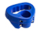 Jockey wheel handle, blue